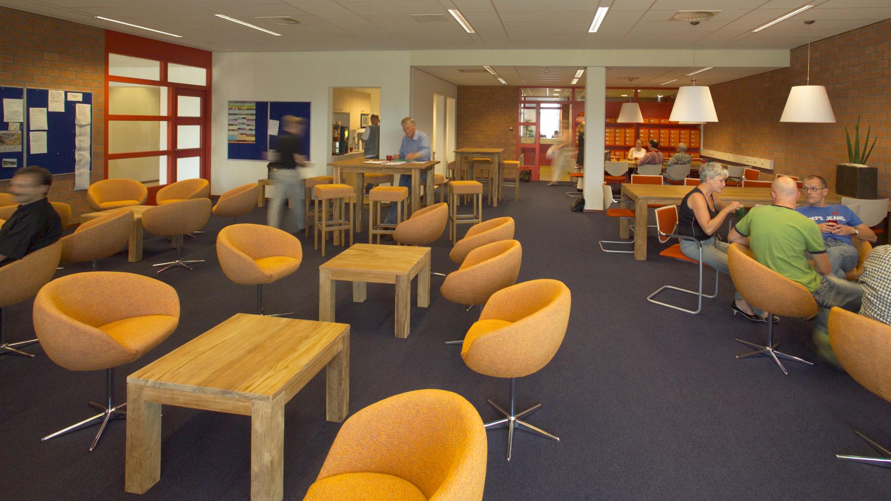 3888 waalwijk willem van oranje college interieur docentenruimte web